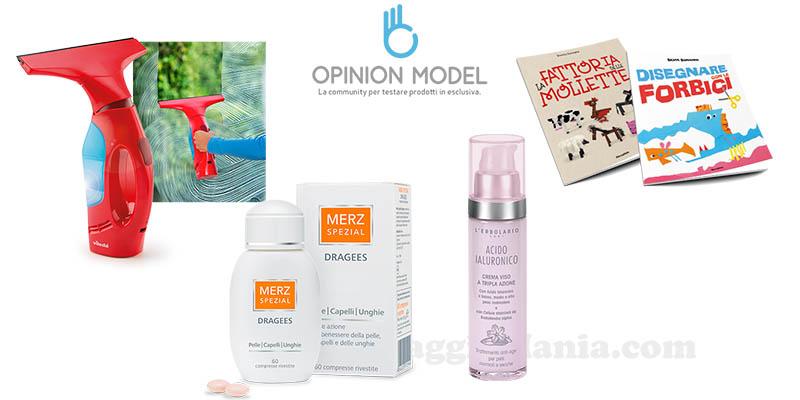 Opinion Model prodotti 2