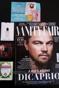 Vanity Fair 8 e omaggi di Marina