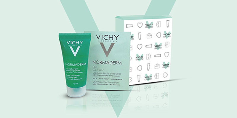 beauty kit Vichy Normaderm