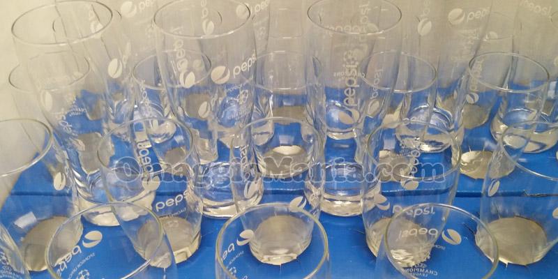 bicchieri Pepsi UEFA Champions League