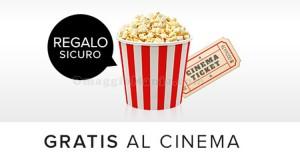 biglietto cinema omaggio con Saldi Privati