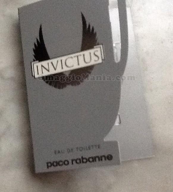 campione omaggio profumo Invictus Paco Rabanne di Tataa71