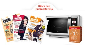concorso CucinaBarilla Mondadori