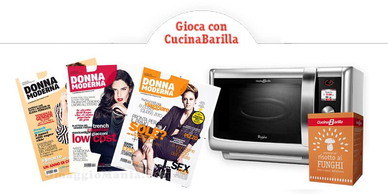 Gioca e vinci con cucina barilla e mondadori omaggiomania - Cucina barilla whirlpool ...
