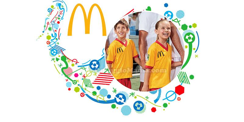 concorso McDonald's in campo con i campioni