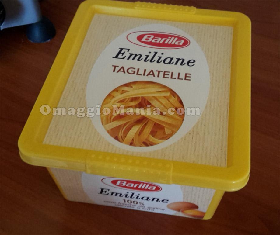 contenitore porta pasta Emiliane Barilla di Vanesita