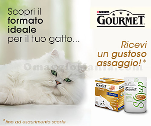 gustoso assaggio Purina Gourmet con PetPassion