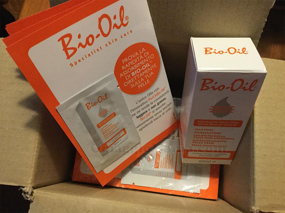 kit Bio-Oil ricevuto da Ginevra
