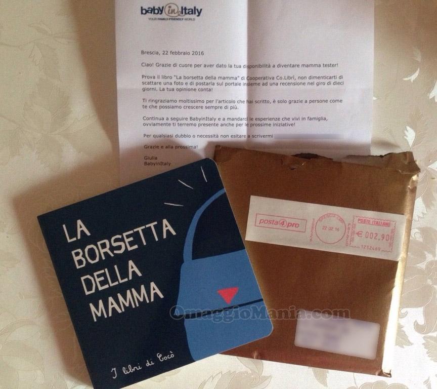 libro La borsetta della Mamma ricevuto da Tatiana