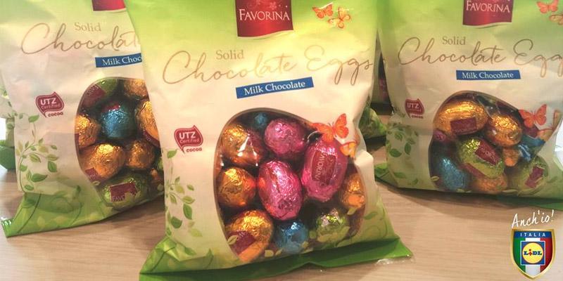 ovetti di cioccolato Favorina