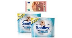 ricarica telefonica omaggio con Scottex La Maxi