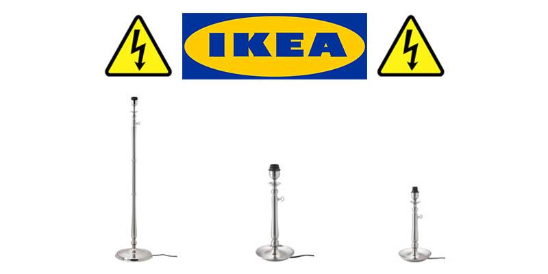 ritiro lampade IKEA Gothem