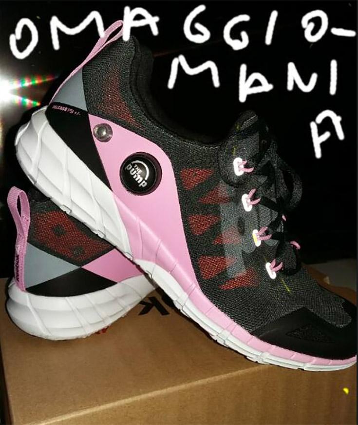 scarpe Reebok ZPump di Anastasiya