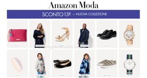 sconto 15 euro Amazon Moda nuova collezione