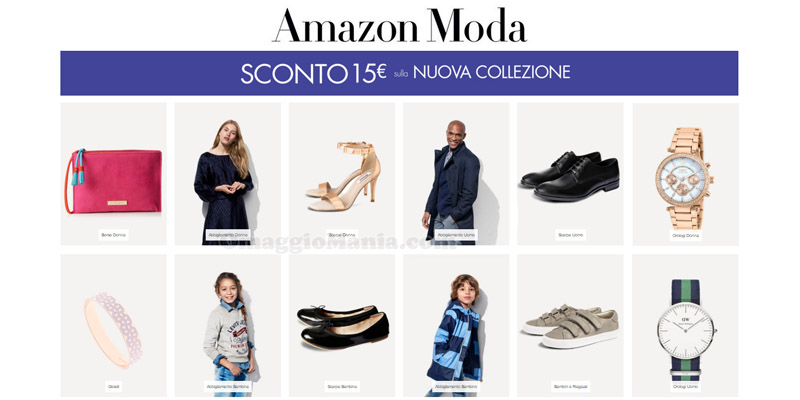 Buoni Sconto Amazon Moda