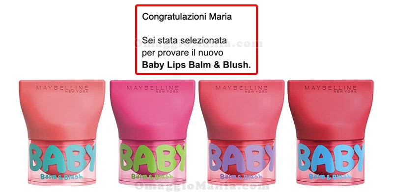 selezione Balm & Blush Baby Lips Maybelline