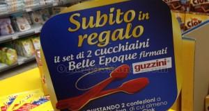 set cucchiaini Belle Epoque Guzzini omaggio con Oro Saiwa