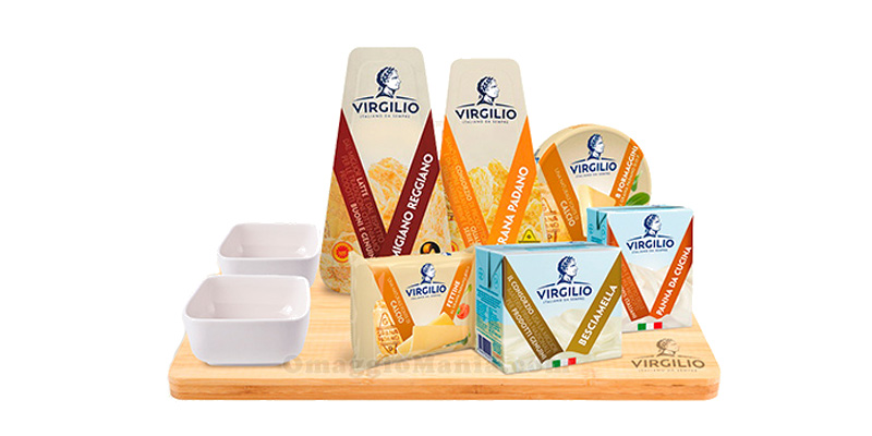 set di prodotti Virgilio