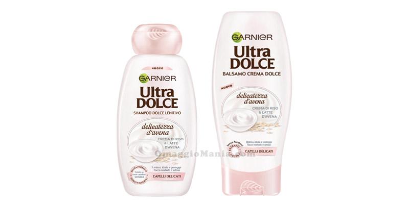 shampoo e balsamo Garier Ultra Dolce Delicatezza d'Avena
