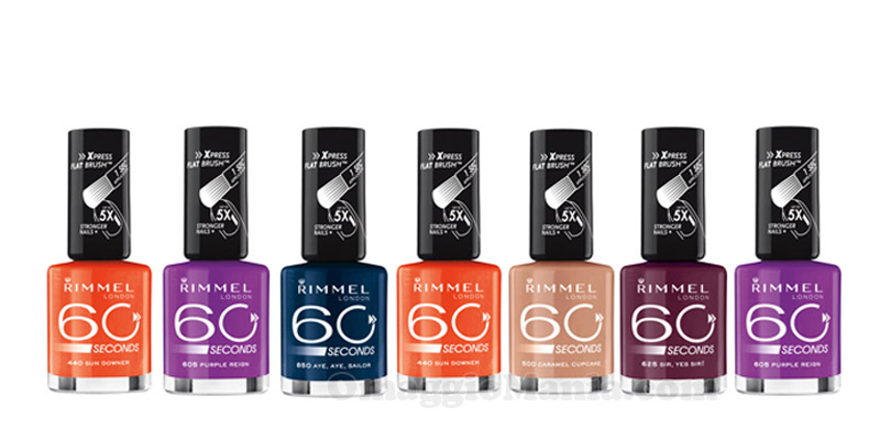 smalti Rimmel 60 seconds