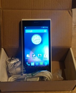 smartphone di Altroconsumo ricevuto da Elena