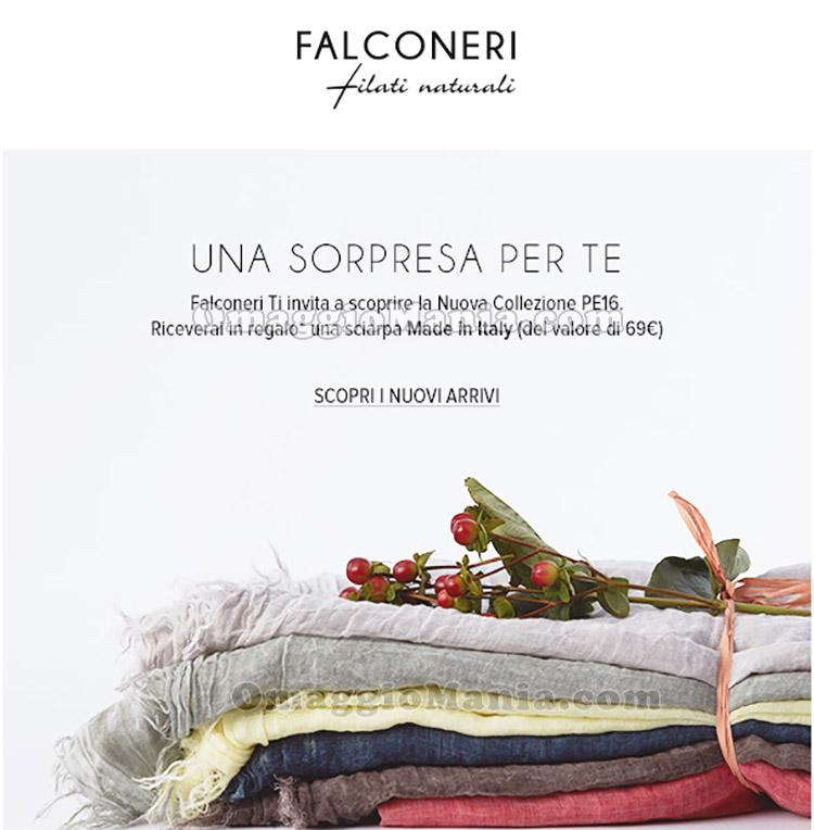 sorpresa Falconeri sciarpa omaggio