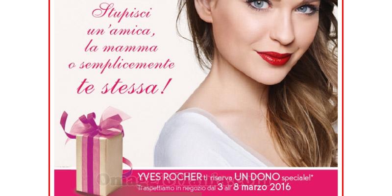sorpresa Yves Rocher per Festa della Donna 2016