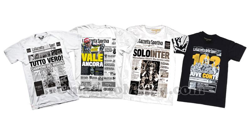 t-shirt Gazzetta Prima Pagina