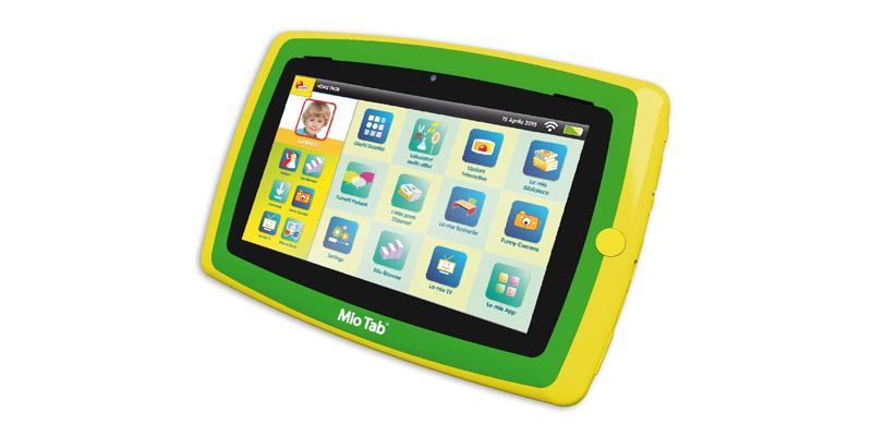 tablet Mio Tab Smart Kid Lisciani