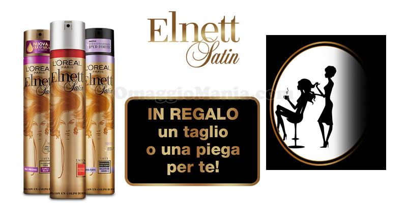 taglio o piega omaggio con Elnett