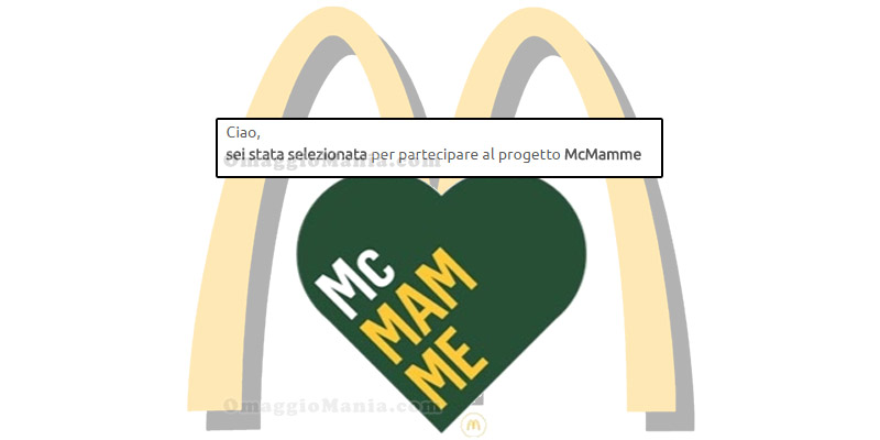 tester progetto McMamme