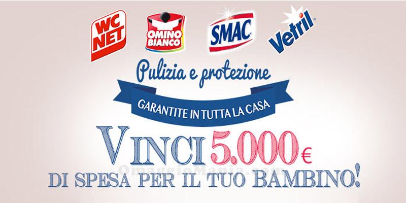 vinci 5.000€ di spesa per il tuo bambino