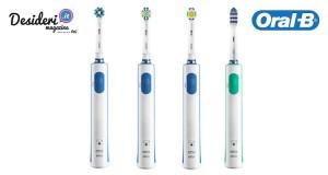vinci spazzolini elettrici Oral-B con Desideri Magazine