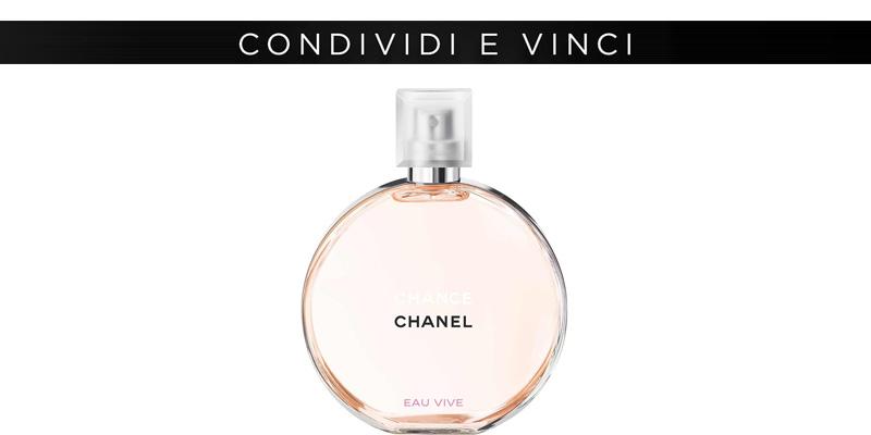 Chanel Eau Vive condividi e vinci