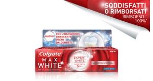 Colgate Max White Expert White soddisfatti o rimborsati