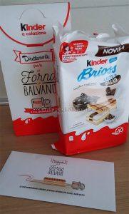 Kinder Brioss latte e cacao dal Forno di Balvano di Michela