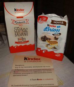 Kinder Brioss latte e cacao di Samuele Silvana