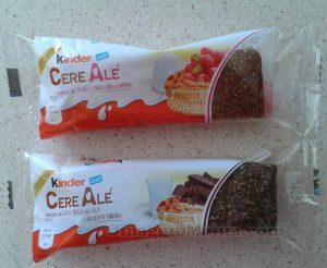 Kinder CereAlé ricevute gratis da Annï