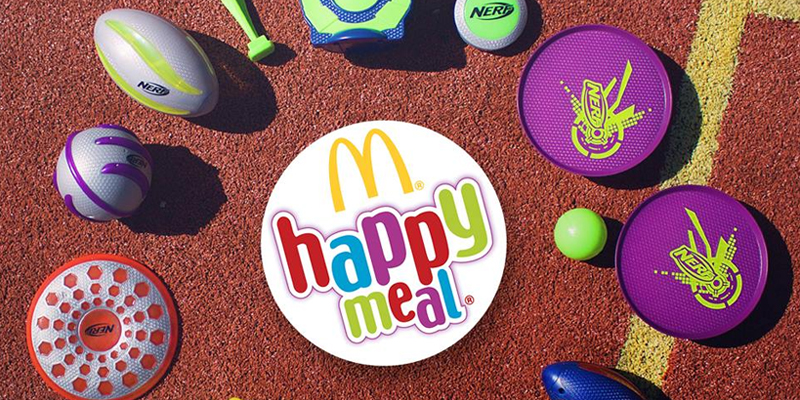 Nerf in regalo con Happy Meal McDonald's