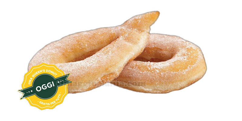 Queen's Donut gratis da Queen's Chips