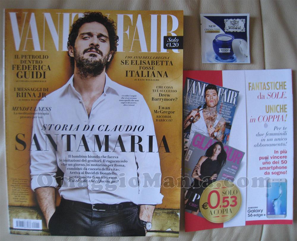 Vanity Fair 15 con campione omaggio Acqua alle Rose
