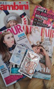 Vanity Fair e Glamour di Enza
