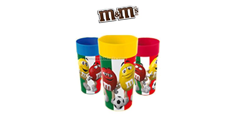bicchieri M&M's dell'Italia