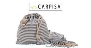 borsa e telo mare con Carpisa