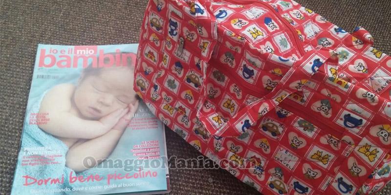 borsa in regalo con Io e il mio bambino