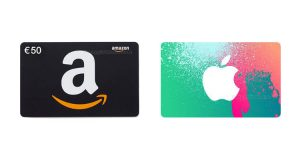 buoni Amazon e Apple