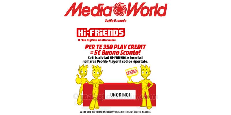 Codice promozionale mediaworld forum
