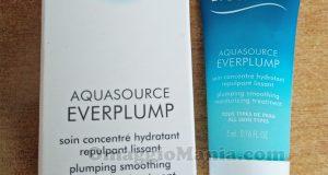 campioncino omaggio Biotherm Aquasource Everplump di Daniela