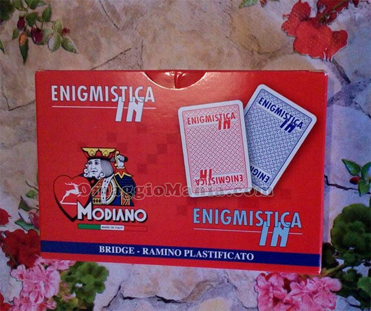 carte Modiano EnigmisticaIn ricevute gratis da Elena