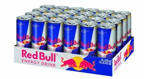 cartone da 24 lattine di Red Bull Energy Drink
